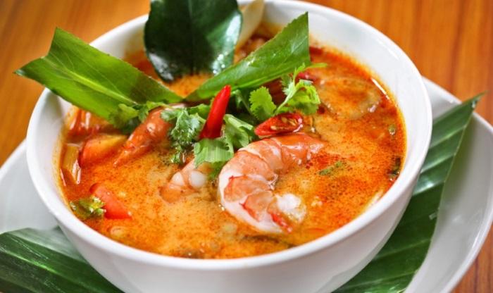 Món canh tom yam gung