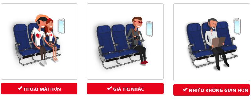 Dịch vụ lựa chọn chỗ ngồi Thai Lion Air mang đến sự hài lònh cho quý khách