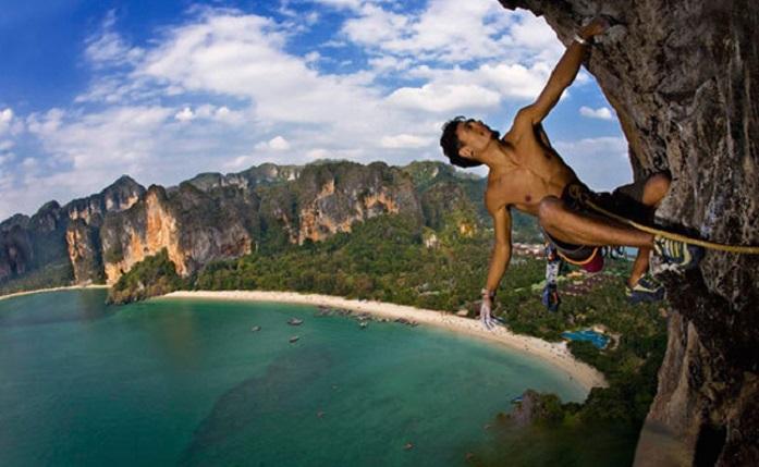 Leo núi phía Bắc Thái Lan