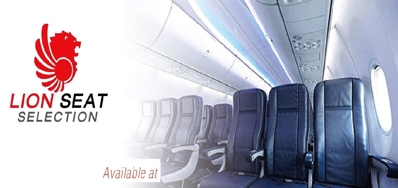 Dịch vụ lựa chọn chỗ ngồi Hãng Thai Lion Air