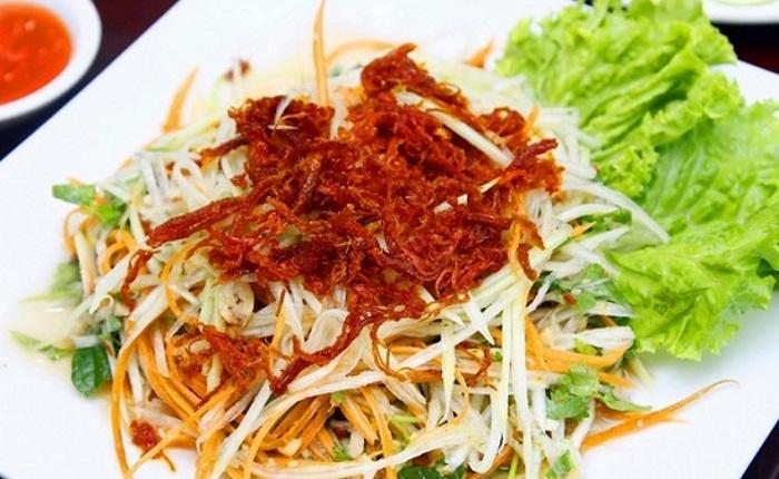 Salad đu đủ Thái Lan chua cay ngọt dịu