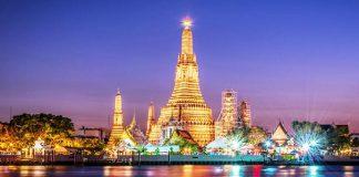 Những ngôi chùa có thiết kế kiến trúc độc đáo tại Thái Lan