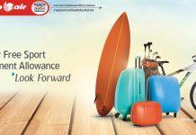 Quy định vận chuyển hành lý thể thao Thai Lion Air
