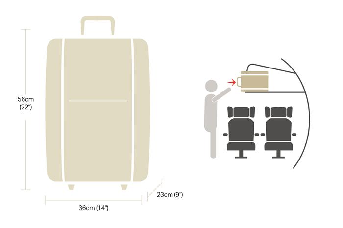 Quy định hành lý xách tay Thai Lion Air