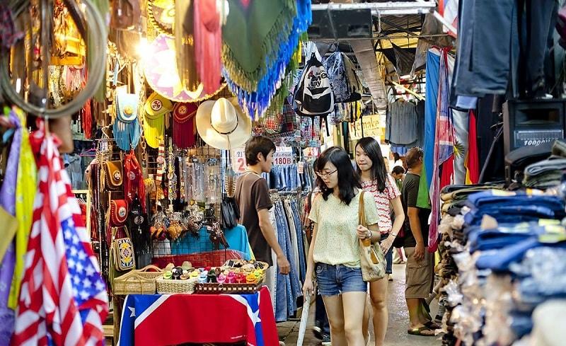 Có thể mặc cả khi mua sắm ở Thái