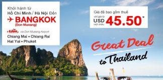 Khuyến mại Thai Lion Air