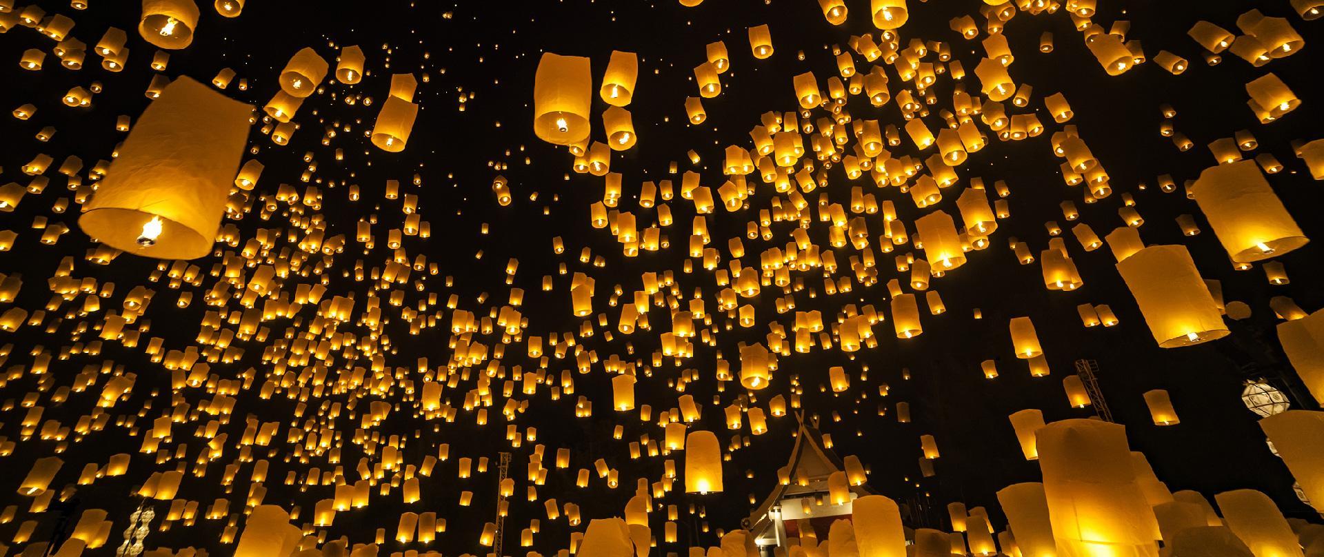 Lễ hội thả đèn trởi Loy Krathong